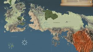 Image of Game of Thrones World Map